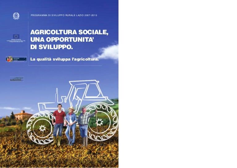 La qualità sviluppa l'agricoltura Regione Lazio