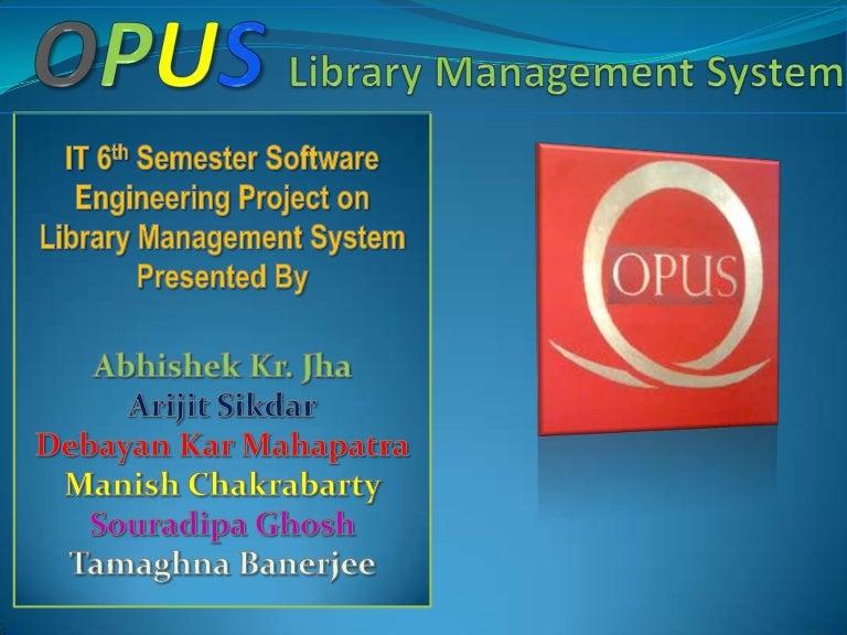 Library Management System - SlideShare