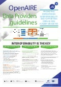 OpenAIRE data providers guidelines (Open Repositories 2016 Poster)