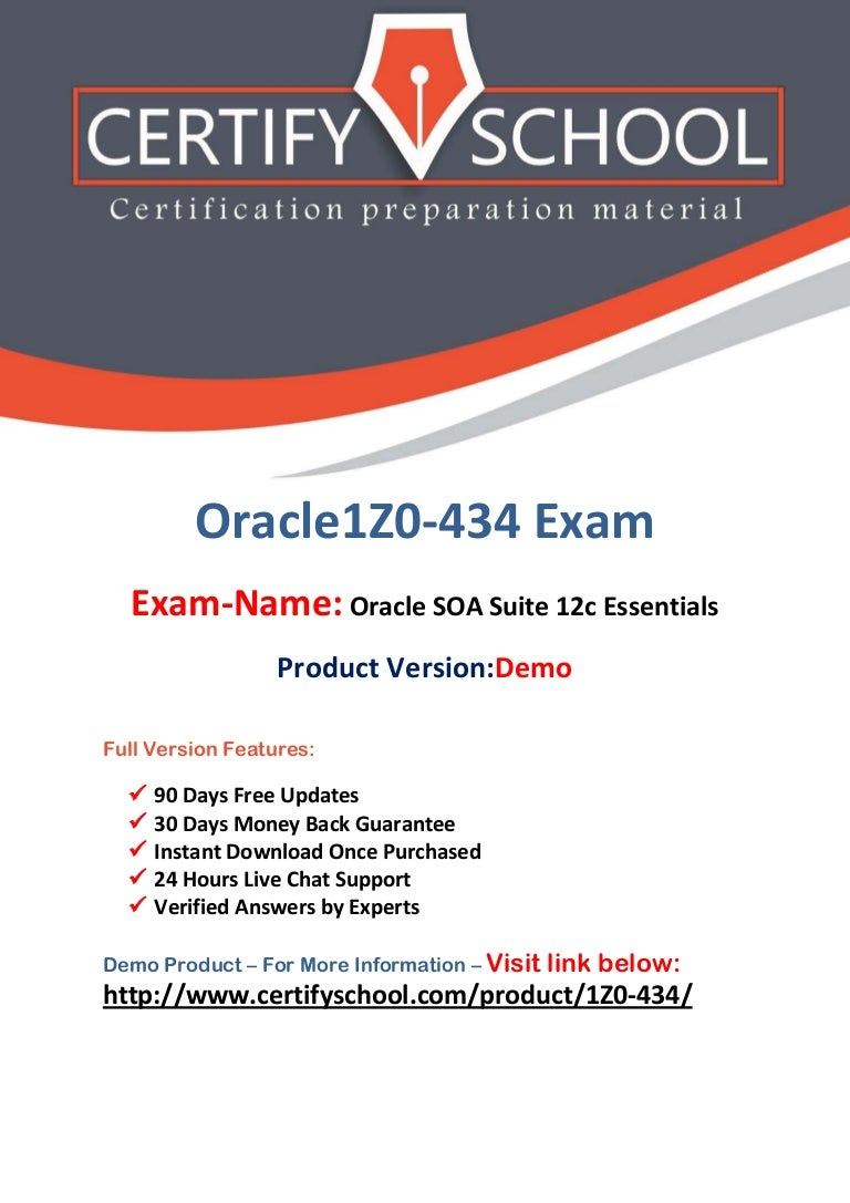 Oracle 1z0 434 exam questions and answers pdf 1betcityfo Image collections