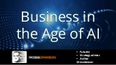 Keynote slides: Business in the Age of AI