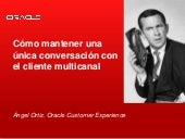 Oracle en Contact Center Telefónica