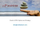 Oracle EPM/BI Overview