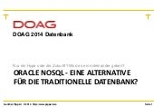 Oracle no sql-doag-datenbank_konferenz_juni_2014
