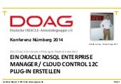 Oracle oem 12c_plugin_development-doag-konferenz_11_2014_print_gunther_pipperr