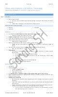 Soft Tissues & Dentoalveolar Injuries (Oral & Maxillofacial Trauma)