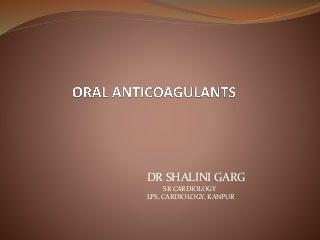 Oral anticoagulants ppt