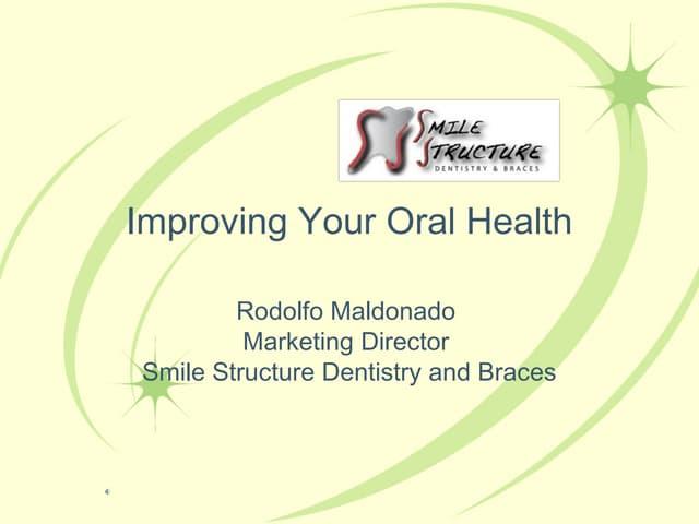 Oral health presentation