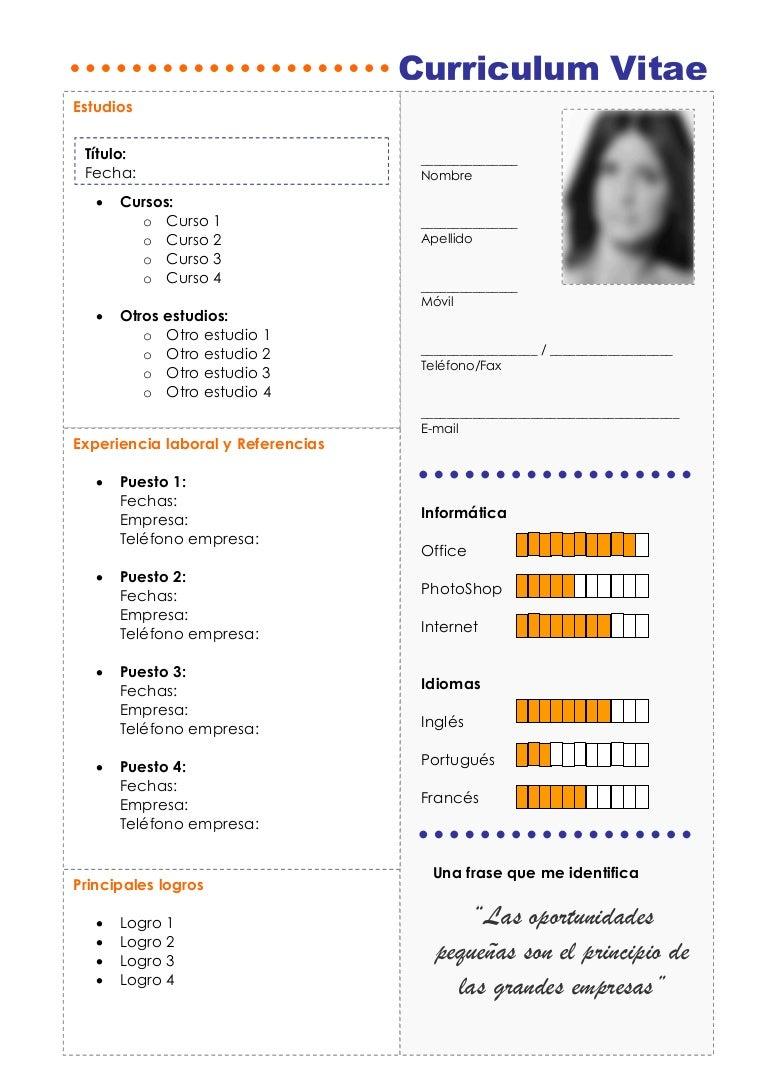 Plantilla premium para Curriculum vitae web