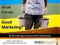 (Graham Brown mobileYouth) Good Causes = Good Marketing?