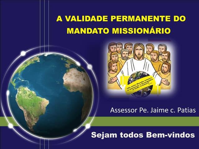 Oração inicial e acolhida - Encontro de Formação Missionária