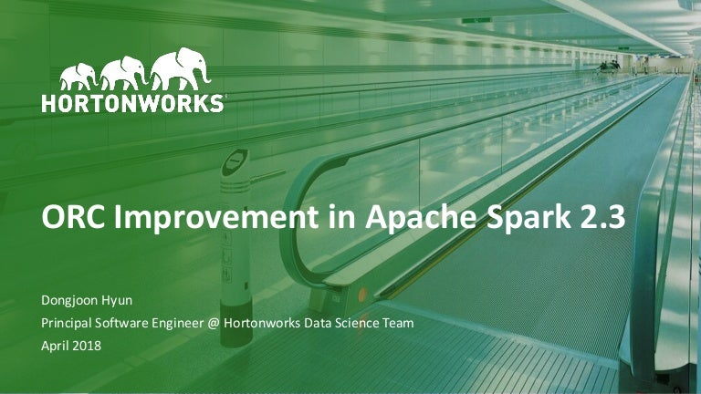 ORC improvement in Apache Spark 2 3