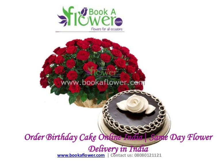 Order Birthday Cake Online India Same Day Flower Delivery