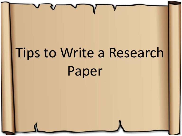 tips on doing a research paper From the internet public library a guide to researching and writing a paper, including topic selection and searching for information choosing an interesting research topic is your first challenge here are some tips: choose a topic that you are interested in the research process is more relevant.