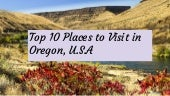 Oregon is known for Windsurfing and these Top 10 Places to Visit