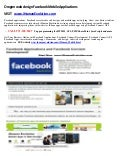 Oregon web design Facebook mobile applications