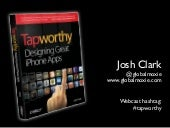 O'Reilly Webcast: Tapworthy iPhone App Design