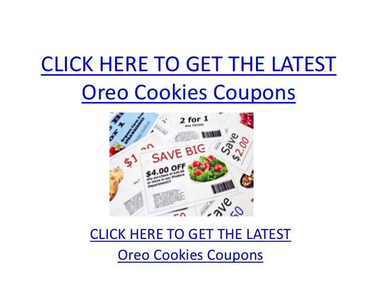 picture about Oreo Printable Coupons identify Oreo Cookies Coupon codes - Printable Oreo Cookies Coupon codes