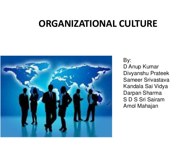 Organisational culture with examples