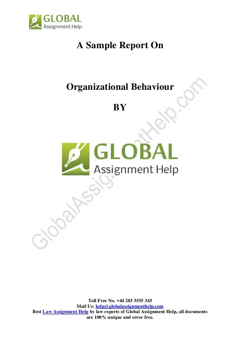 organizational behaviour sampe by global assignment help