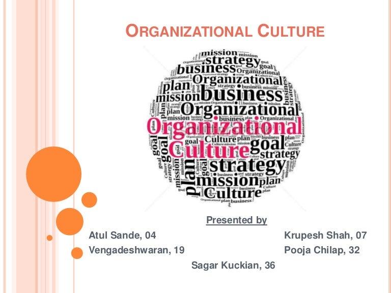 Organizational culture - Human Behaviour Organisation