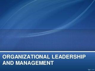 Organizational Leadership   LinkedIn