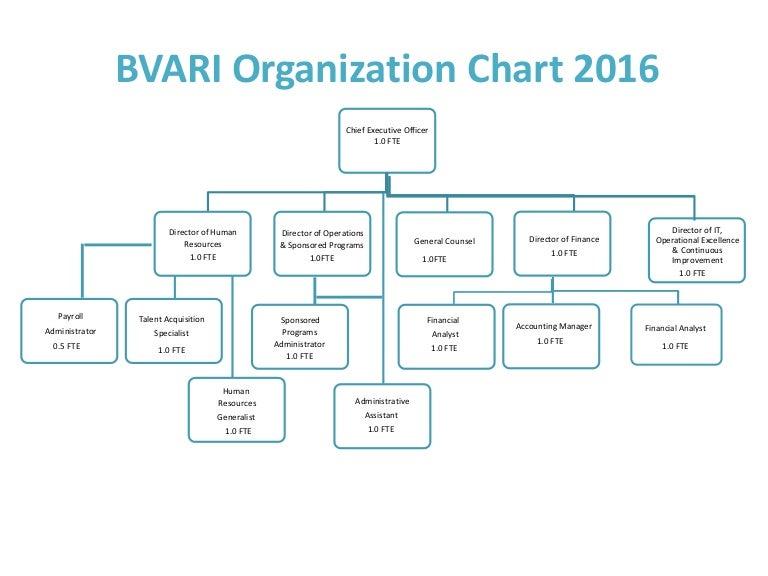 Bvari Organizational Chart