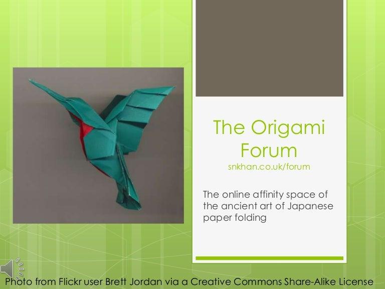 the origami forum