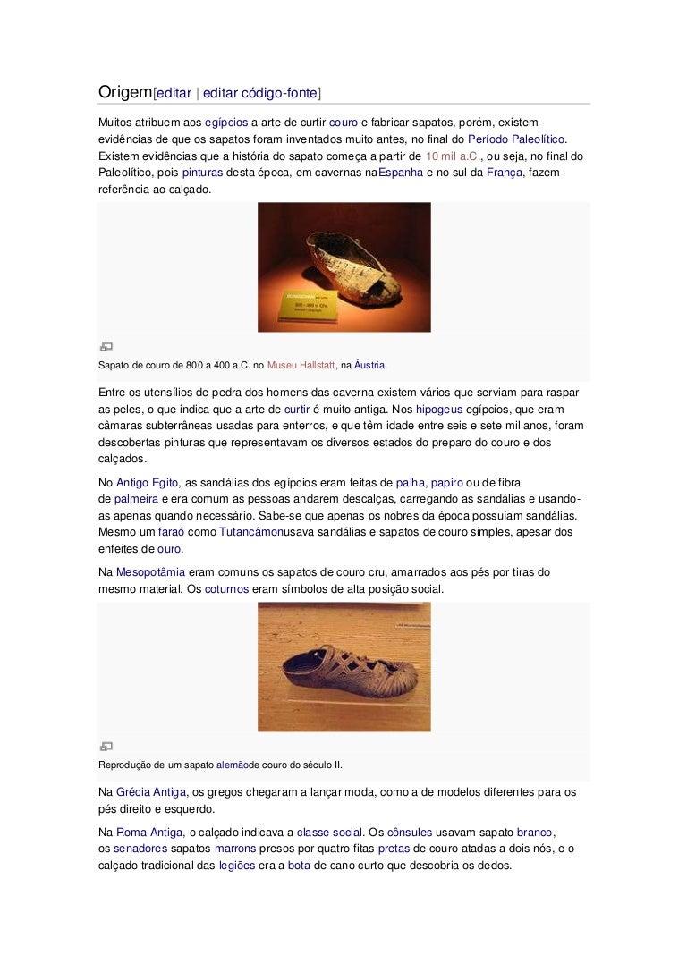 As Sandálias dos Faraós