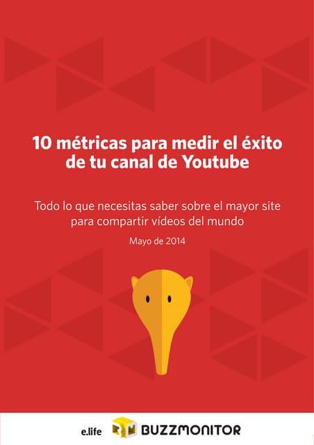 10 métricas pra el éxito de tu canal de Youtube