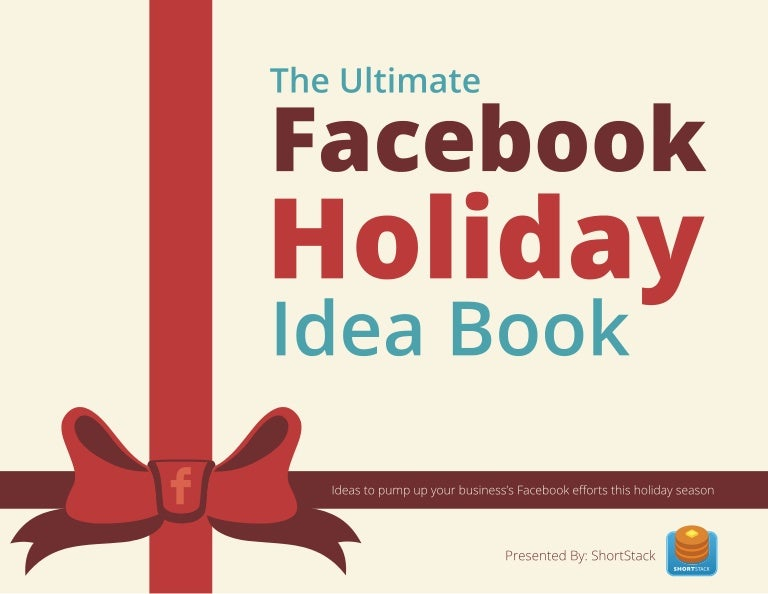 Shortstacks the ultimate facebook holiday idea book fandeluxe