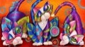 Originals Cats By Artist Alma Lee