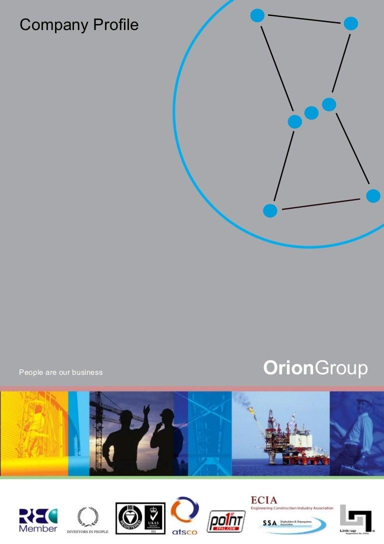 Orionprofile 1274089962081 Phpapp02 Sidac Basic Operation
