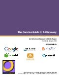 The Concise Guide to E-Discovery