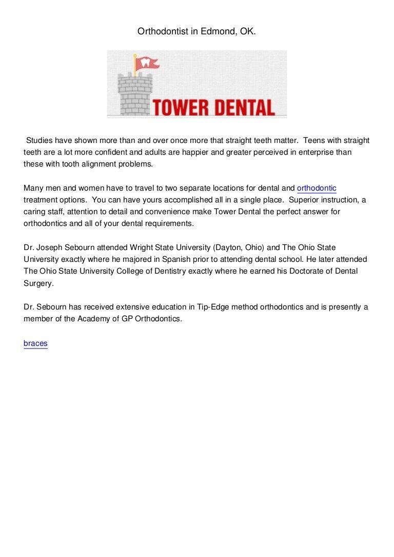 orthodontist and dentist in edmond ok