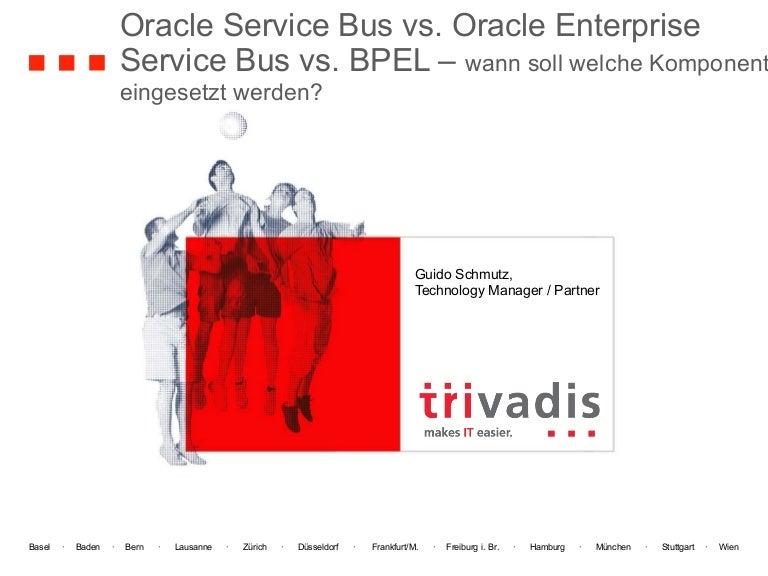 Oracle Service Bus vs. Oracle Enterprise Service Bus vs. BPEL
