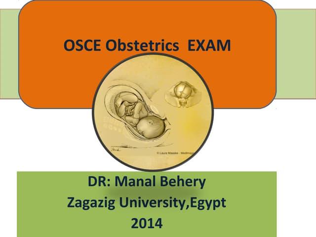 Osce obstetrics for undergraduate
