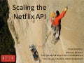 Scaling the Netflix API - OSCON