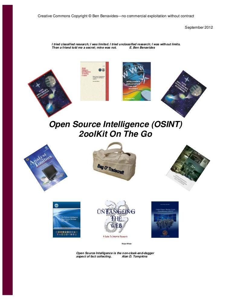 Osint 2ool-kit-on the-go-bag-o-tradecraft