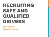 Ohio Trucking Association: Driver Recruiting