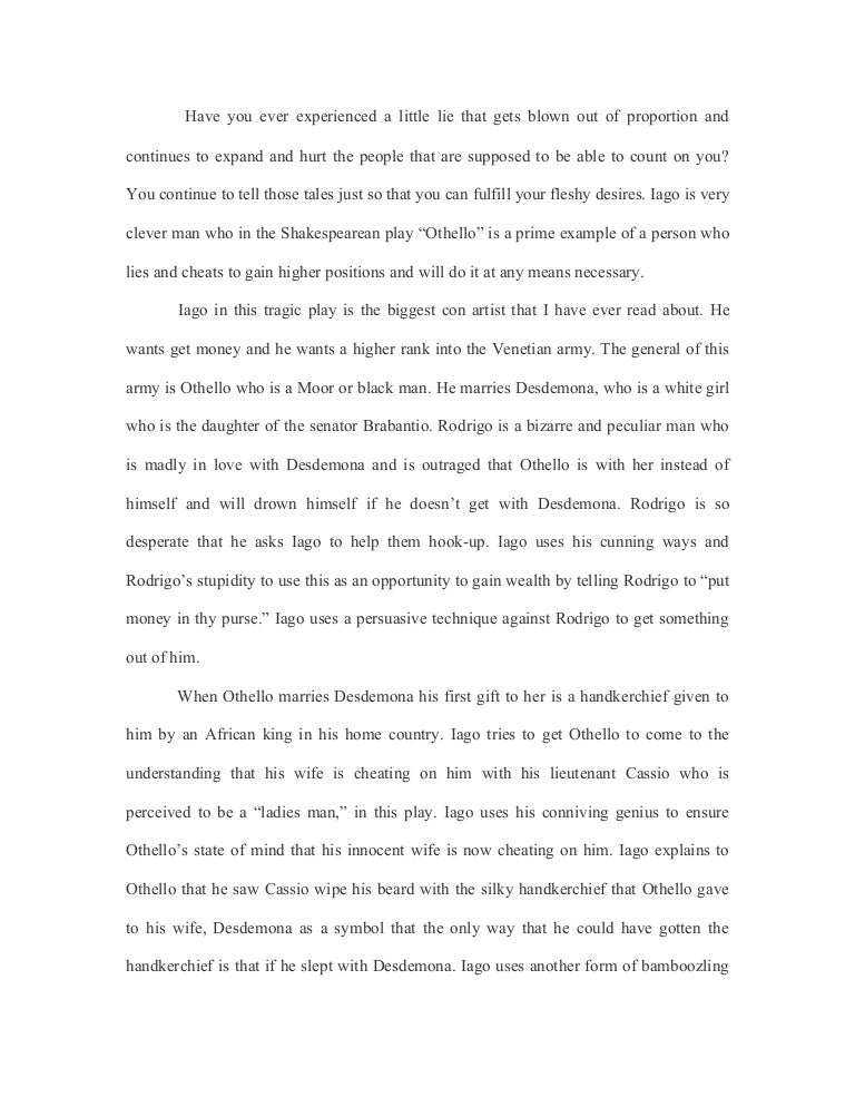iago essay othello essay about iago othello essay analyse the  othello essay
