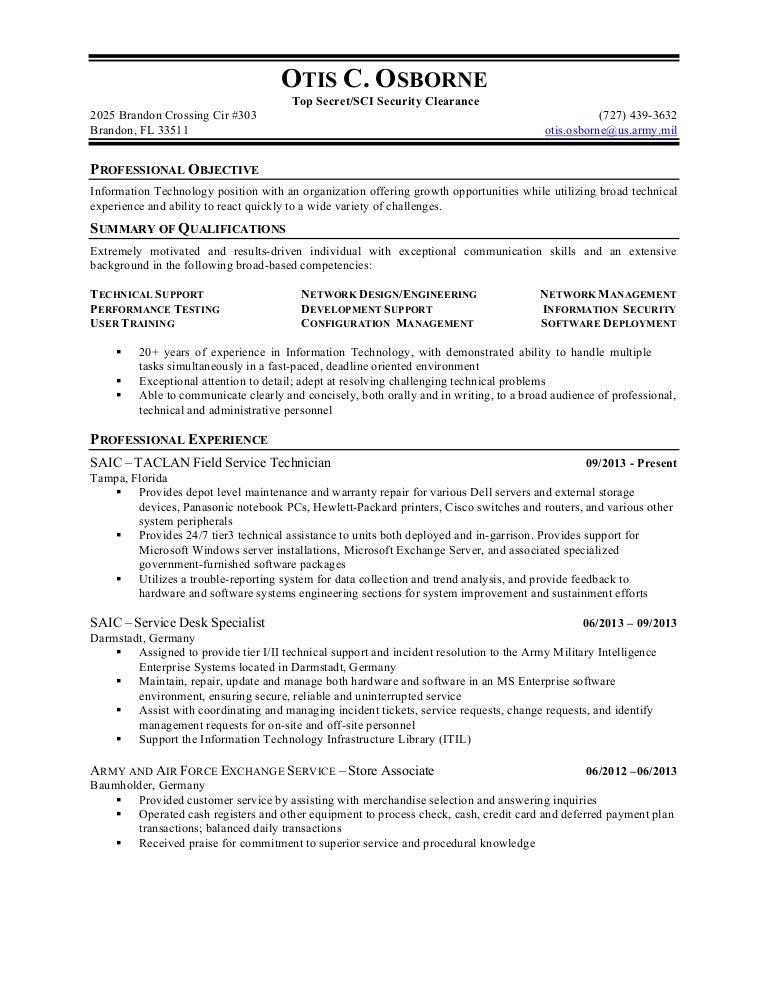 resume security clearance