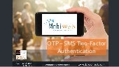 MobiWeb - OTP SMS Two Factor Authentication