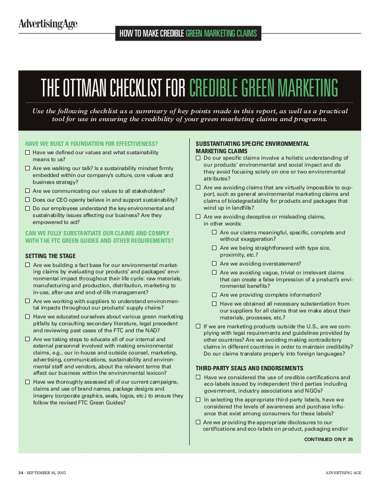 impact of green marketing Another dimension of green marketing was not found to be significant akehurst et al (2012) studied the impact of socio- demographic and psychographic variables on ecological conscious consumers.
