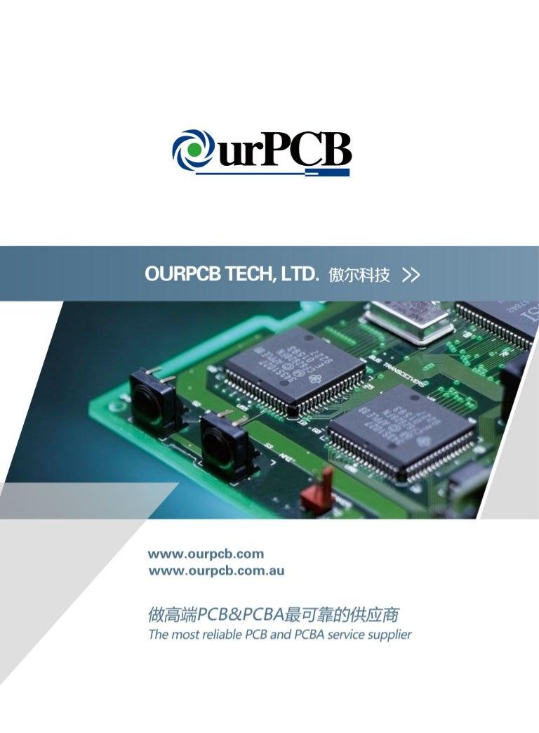 Oz Copper Smd Led Pcb Board Round Print Circuit Board Prototype