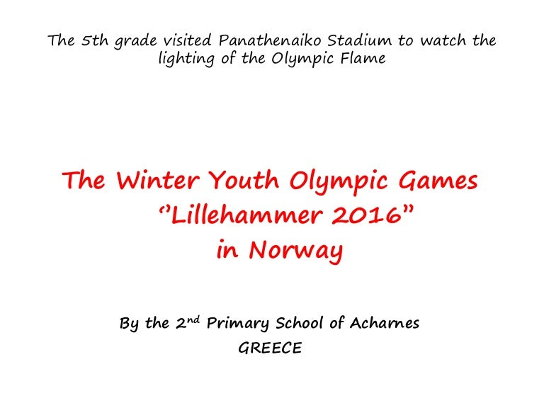 Our Trip To The Panathinaiko Stadium For The Lighting Of The Olympic