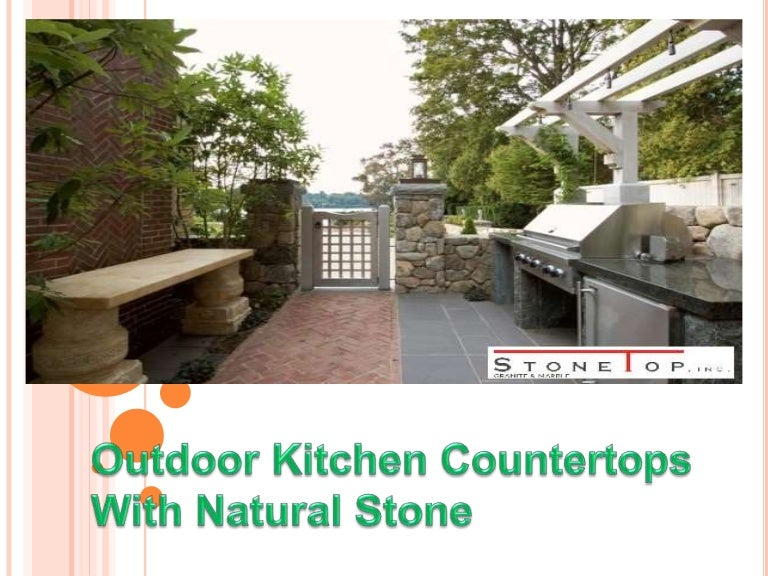 outdoor kitchen countertops with natural stone stone top inc - Outdoor Kitchen Countertops