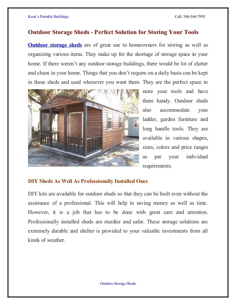 Forex tool shed