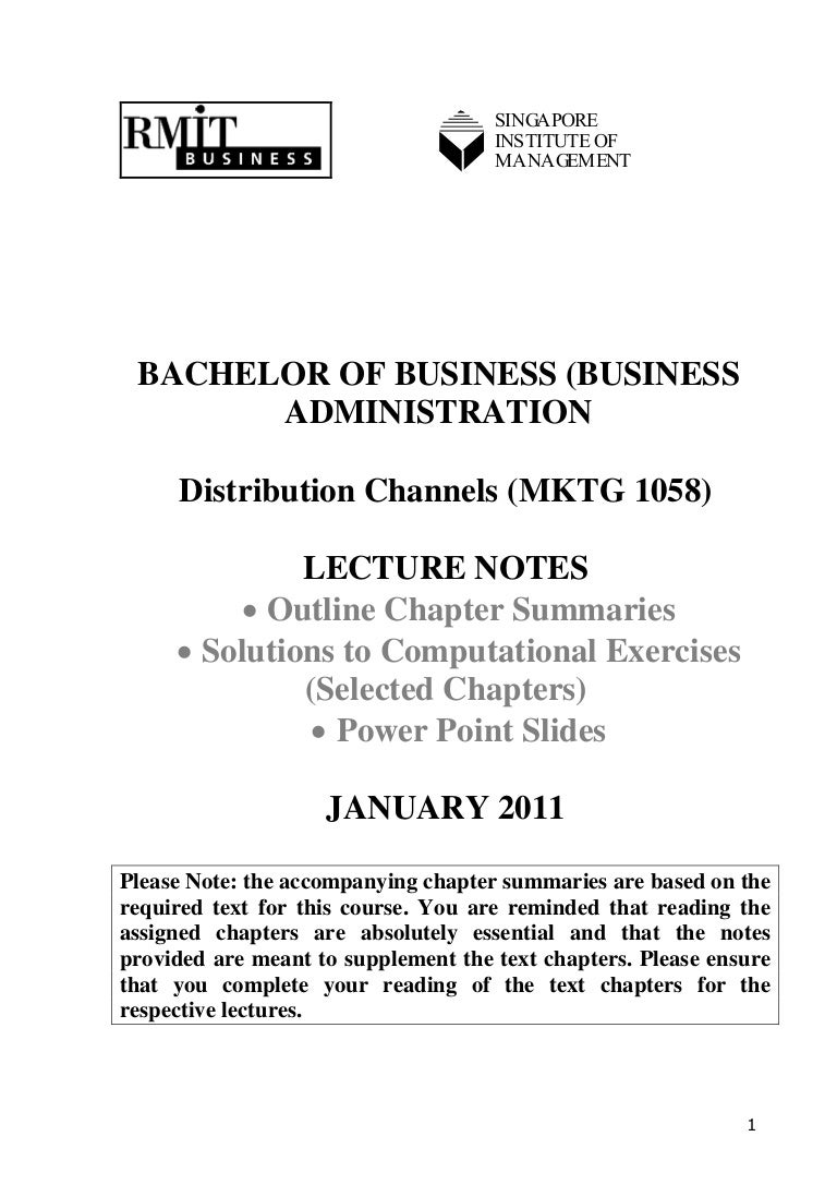 Dc Outline Lecture Notes Based On Text Chapters