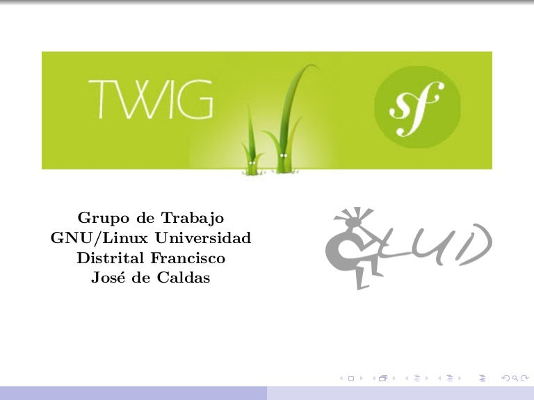 Plantillas Twig (Symfony)